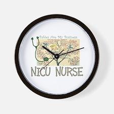 PEDS Nurse Wall Clock