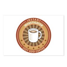 Instant Investigator Postcards (Package of 8)