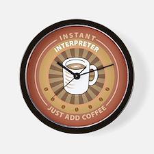 Instant Interpreter Wall Clock