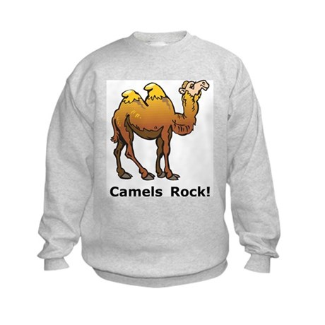 Camels Rock Kids Sweatshirt