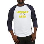 Library Geek Baseball Jersey