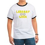 Library Geek Ringer T