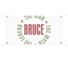Bruce Man Myth Legend Banner