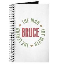 Bruce Man Myth Legend Journal