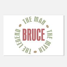 Bruce Man Myth Legend Postcards (Package of 8)