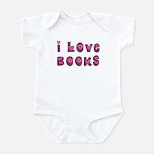 I Love Books Infant Bodysuit