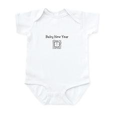 Baby New Year Infant Bodysuit