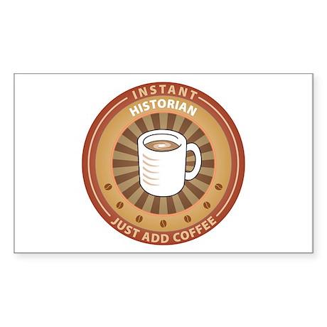 Instant Historian Rectangle Sticker 10 pk)
