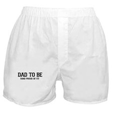 DAD TO BE AND PROUD OF IT ( EXPECTING DAD) Boxer S