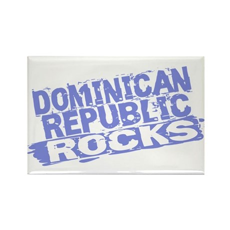 Dominican Republic Rectangle Magnet