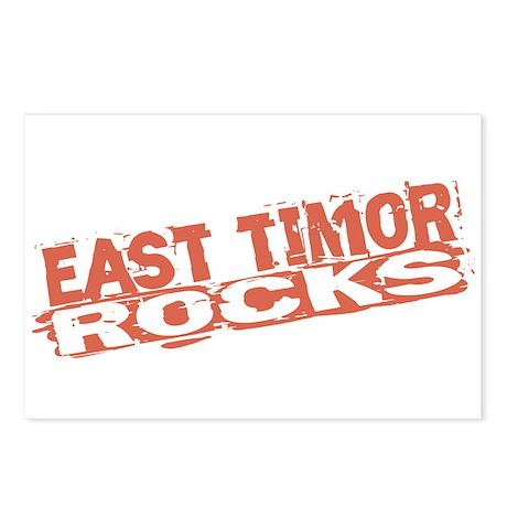 East Timor Rocks Postcards (Package of 8)