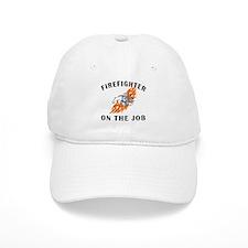 Firefighter On The Job Baseball Cap