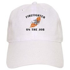 Firefighter On The Job Hat