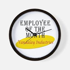 Vandalay Industries Wall Clock