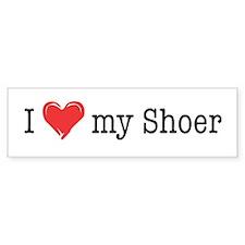 Love My Shoer Bumper Bumper Sticker