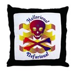 Hellarious2 Throw Pillow