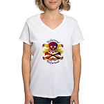Hellarious2 Women's V-Neck T-Shirt