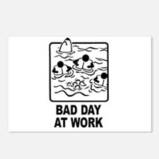 Bad Day at Work Postcards (Package of 8)