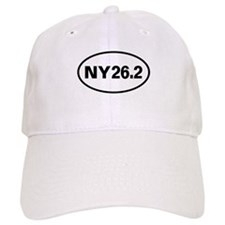 26.2 New York Marathon Oval Baseball Cap