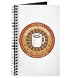 Instant electrical engineer add coffee Journals & Spiral Notebooks