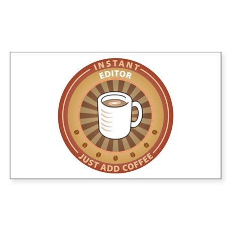 Instant Editor Rectangle Sticker