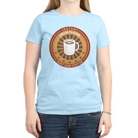 Instant Drum Player Women's Light T-Shirt