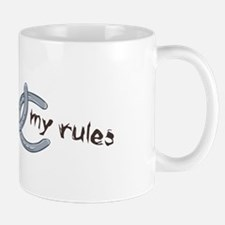 My Shoes, My Rules Mug