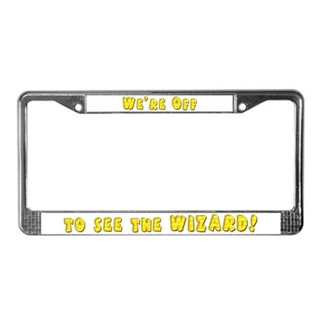 Toto Dorothy Over the Rainbow License Plate Frame