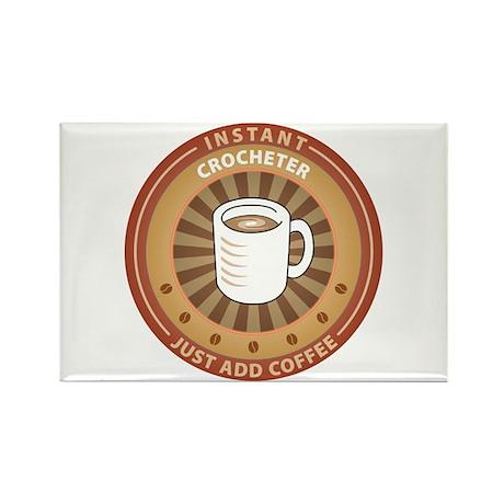 Instant Crocheter Rectangle Magnet (100 pack)