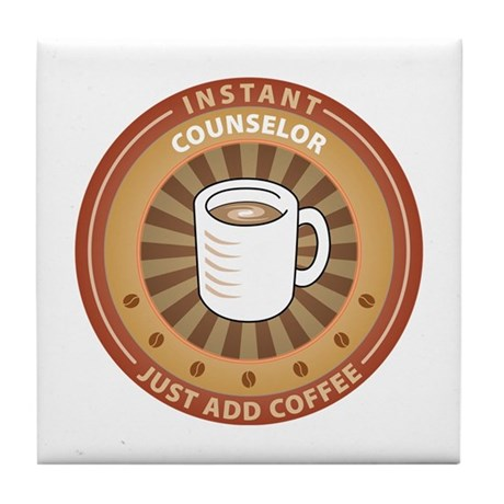 Instant Counselor Tile Coaster