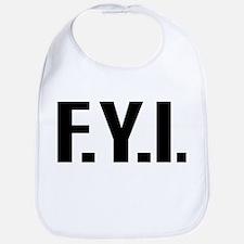 """""""FYI"""" Bib"""