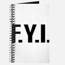 """FYI"" Journal"