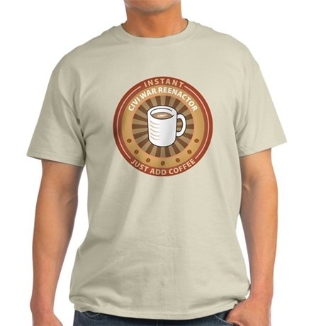 Instant Civi War Reenactor Light T-Shirt