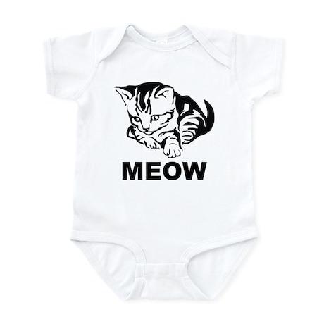 Meow Cat Infant Bodysuit