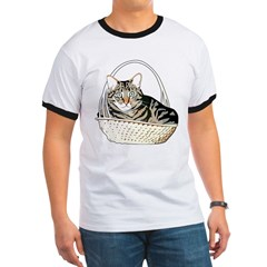 Cat In A Basket T