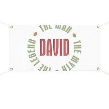 David Man Myth Legend Banner
