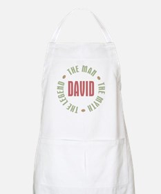 David Man Myth Legend BBQ Apron