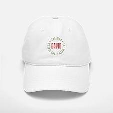 David Man Myth Legend Baseball Baseball Cap