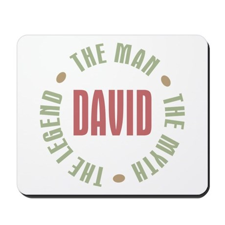David Man Myth Legend Mousepad