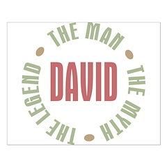 David Man Myth Legend Posters
