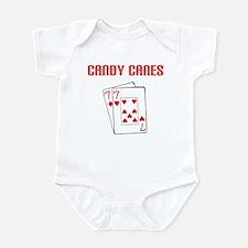 """Candy Cane"" Infant Bodysuit"