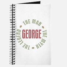 George Man Myth Legend Journal