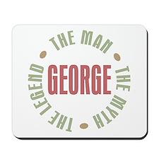 George Man Myth Legend Mousepad