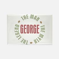 George Man Myth Legend Rectangle Magnet