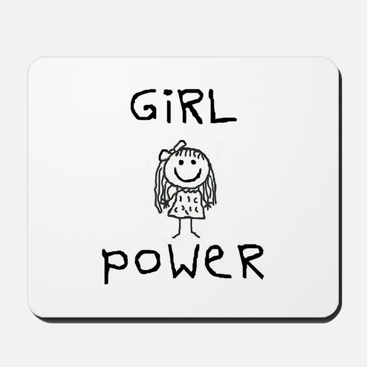 Girl Power Mousepad