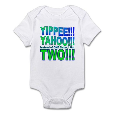 Yippee Twins - Sisters Infant Bodysuit