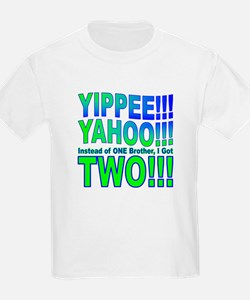 Yippee Twins - Brothers T-Shirt