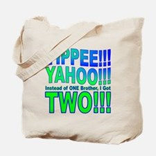 Yippee Twins - Brothers Tote Bag