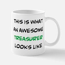 awesome treasurer Mug