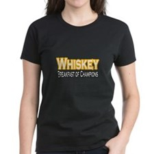 """Whiskey: Breakfast of Champions"" Tee"